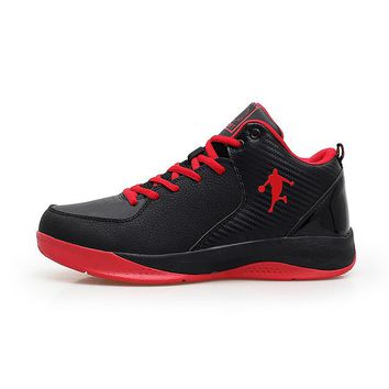 Sneakers Men Basketball Good Quality Basketball Shoes Kids Best Mid Top Basketball Shoes Blue/Red Sports Sneakers Cheap