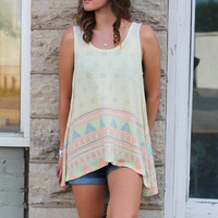 Tribal Call Tank {L. Yellow}
