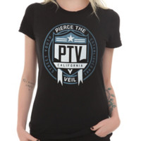 Pierce The Veil Street Youth Girls T-Shirt