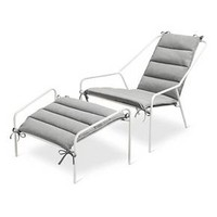 Posture Chair and Ottoman Set White - Modern by Dwell Magazine