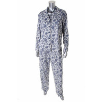 Charter Club Womens Knit Long Sleeves Two-Piece Pajamas