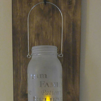 Rustic mason jar- mason jar decor-rustic wedding