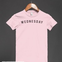 Wednesday Shirt-Female Light Pink T-Shirt