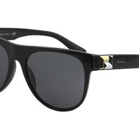 LMFON3F Versace Women's Rock Icon Flat Lens Sunglasses