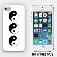for iPhone 5/5S - Triple YinYang - Hipster - Ship from Vietnam - US Registered Brand