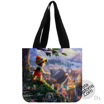Disney Pinocchio New Hot, handmade bag, canvas bag, tote bag