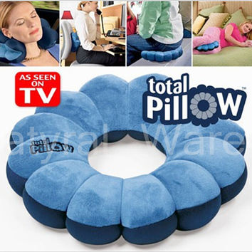Comfortable Travel Pillow Neck Cushion Twist Plum Blossom Shape Support Decorative Pillows Birthday Gift