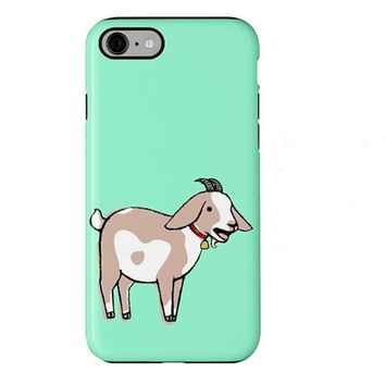 Goat Phone Case, Cute Goat Gift, Yelling Goat, Cute Goat, Goat Gift, Farm Animals iPhone 4 5 6 7s plus case Samsung Galaxy S4 S5
