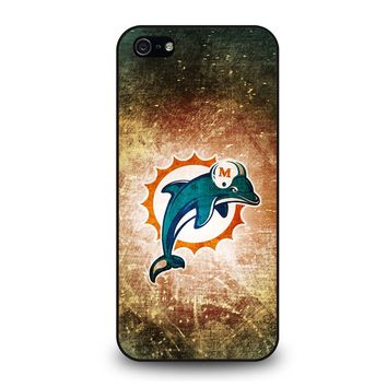 MIAMI DOLPHINS LOGO iPhone 5 / 5S / SE Case Cover