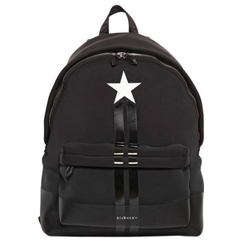 Givenchy Star Neoprene Backpack