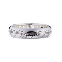 The Lord of the Rings Sterling Silver One Ring | WBshop.com | Warner Bros.