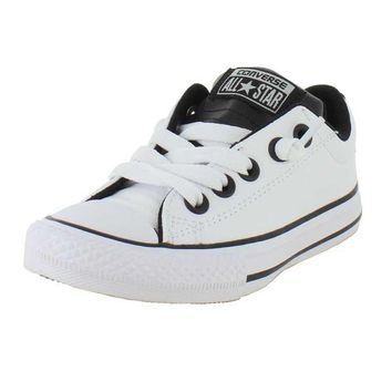 Converse Boys Chuck Taylor All Star Street Ox Sneaker White 3 M US Little Kid '