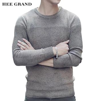 Men Casual Sweater O-Neck Full Sleeve