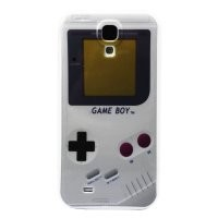 Early Shop Game Boy Retro Image Design Snap-on Hard Back Case Cover for Samsung GALAXY S4 I9500 (grey)