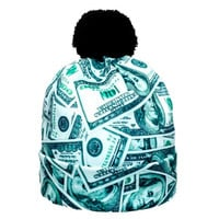 Money Print Beanie
