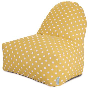 Citrus Ikat Dot Kick-It Chair