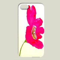 Fuchsia Flower iPhone case by charissecolbert on BoomBoomPrints