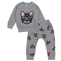 Hello Kitty Girls Clothing Sets Little Cats