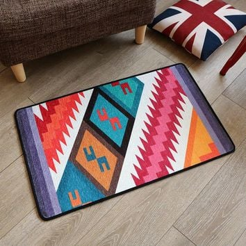 Autumn Fall welcome door mat doormat Geometric Rug For Entrance  For Bedroom Non Slip Bath Mat Floor Carpet For Living Room Kitchen Alfombra tapete para sala AT_76_7