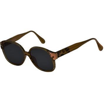 Christian Lacroix Vintage Animal Print Sunglasses