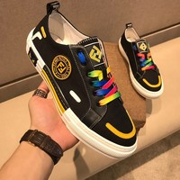 Fendi Men New Fashion Casual Shoes Sneaker Sport Running Shoes