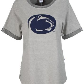 Official NCAA The Pennsylvania State University Penn State Nittany Lions PSU Women's Unisex Tri- Blend Tee