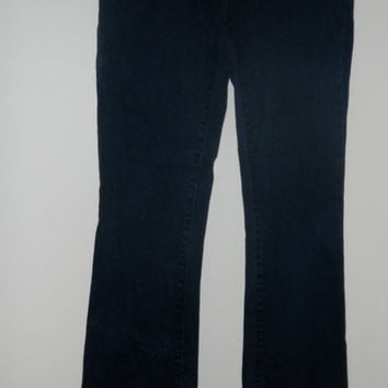Gap Long and Lean vintage jeans   size 1   dark   bootcut