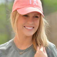 Charlie Southern State Hat -  Coral Texas