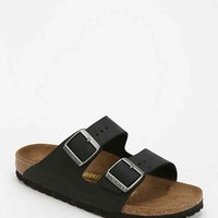 Birkenstock Arizona Oiled Leather Sandal- Black