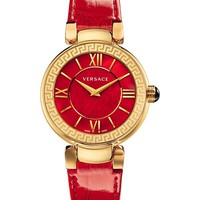 VERSACE - VNC14 0014 Leda stainless steel watch | Selfridges.com