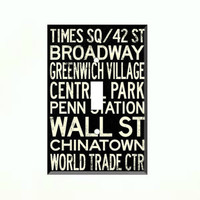 New York City Words Single Light Switch Plate Wall Cover