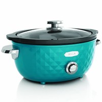 Bella Housewares | Diamonds Collection 6QT Slow Cooker in Diamonds Collection and Collections and kitchen appliances, colorful appliances, toasters, juicers, blenders