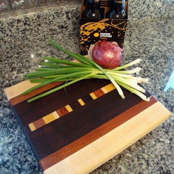 Handmade Medium Wood Cutting Board  The Better by tauntongreen