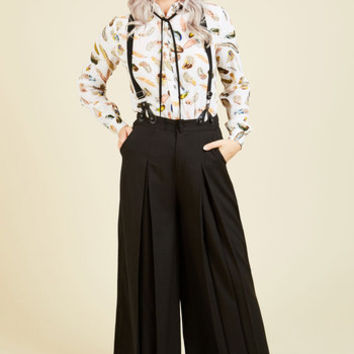 Proper Presentation Pants in Black | Mod Retro Vintage Jackets | ModCloth.com