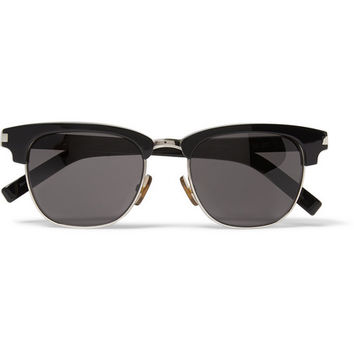 Saint Laurent - SL83 Acetate and Metal Sunglasses | MR PORTER