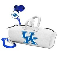 NCAA Kentucky Wildcats Scorch Earbuds with Bud Bag