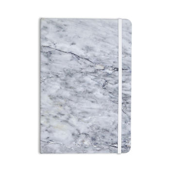 "Chelsea Victoria ""Marble"" Blue Black Everything Notebook"