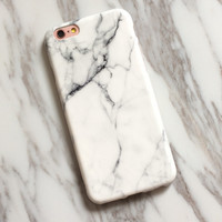 Unique Marble Case iPhone X 8 7 7Plus & iPhone 6s 6 Plus Case +Gift Box