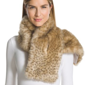 Chico's Kimberly Faux-Fur Scarf