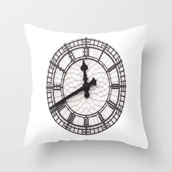 The Countdown is on Throw Pillow by liberthine01
