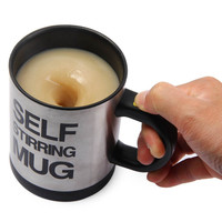 Double Insulated Self Stirring Mug