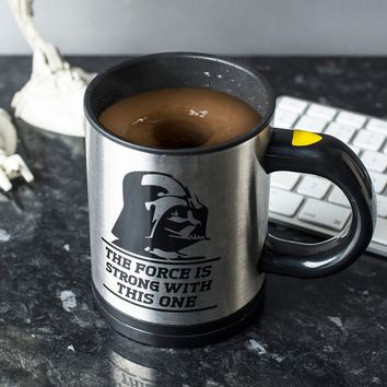 Star Wars Self Stirring Mug | GettingPersonal.co.uk