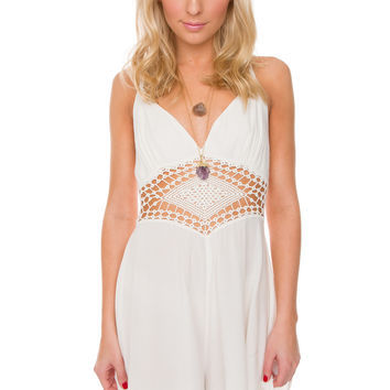 Summertime Romper - White