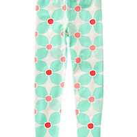 Geo Flower Leggings