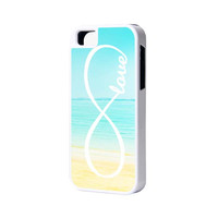 Sea Infinity Love iPhone 6 Plus 6 5S 5 5C 4 Rubber Case
