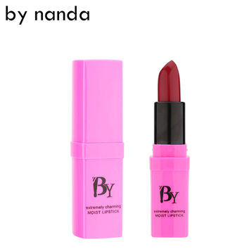 BY NANDA 2016 New Lipstick Matte Waterproof Magic Makeup Nude Lip Gloss 16 Colors Available Lip Cosmetic Korean Cosmetics