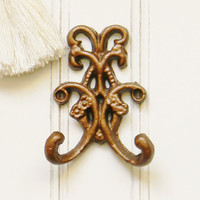 Small Scroll Wall Hook - Choose Your Color - Colorful Cast and Crew