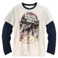 Star Wars: The Empire Strikes Back Double-Up Tee for Adults