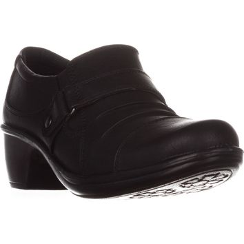 Easy Street Mika Ankle Boots, Black, 7.5 US
