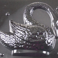 """8"""" Swan Chocolate Mold Life Of The Party 3D W300 Wedding Shower Candy Soap NEW"""
